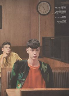 Tim Jocelyn jacket from Featherstone Vintage. I heart Magazine. Photographed by Chloe Gassian. Styled by Tinashe Musarara