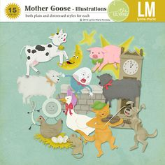 Lynn Marie - Mother Goose - illustrations $2.09
