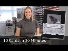 10 cards in 20 Minutes - Fall / Autumn Colors - YouTube
