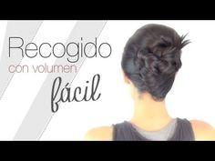 "Peinado fácil con volumen ""paso a paso""  www.secretosdechicas.es"