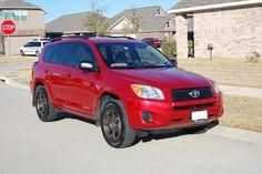 Toyota+Rav4 red wheel black - Google Search