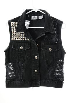 Black X vest
