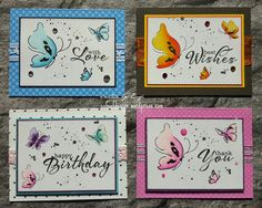 Butterfly cards #altenew #clearlybesotted saved from safsafdesign.wordpress.com