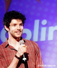 That's it, he's on the bucket list. Meet Colin Morgan! :)< Tis been on my list since Doctor Who. :P