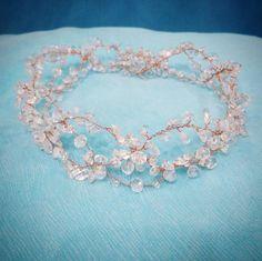 Bridal Headpiece, Crystal Bridal Hair Piece, Tiara, Bridal Hair Halo, Wedding Hair Piece, Crown. by RoyalAccessoriesAE on Etsy