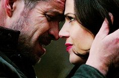 "Regina and Robin - 4 * 11 ""Heroes and Villains"" #OutlawQueen"