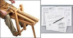 Image result for shaving horse bench