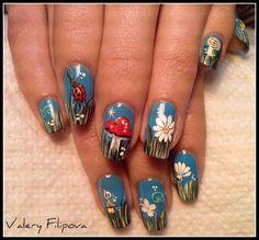 Spring  by ValeryFilipova - Nail Art Gallery nailartgallery.nailsmag.com by Nails Magazine www.nailsmag.com #nailart