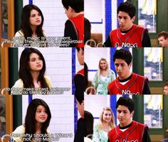 I love wizards of waverly place :D