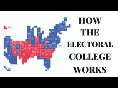 Do you understand what the Electoral College is? Or how it works? Or why America uses it to elect its presidents instead of just using a straight popular vot...