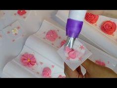 Como hacer glaseado real con boquillas o manga pastelera - Hogar Tv por Juan Gonzalo Angel - YouTube