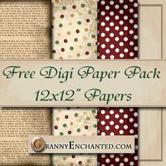 Free Newsprint Digital Scrapbook Paper Pack  ***Join 2,040 people. Follow our Free Digital Scrapbook Board. New Freebies every day.