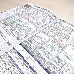 Planner Tips, Planner Layout, Goals Planner, Life Planner, Happy Planner, Bullet Journal School, Bullet Journal Ideas Pages, Bullet Journal Inspiration, Planner Organization