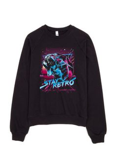"""STAY RETRO"" Limited Edition Graphic Tiger Sweatshirt"