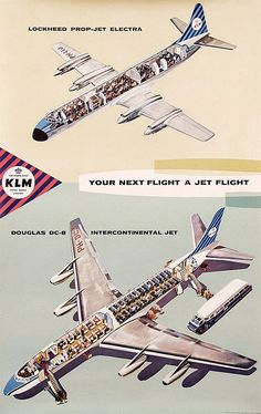 KLM Your next flight a jet flight Douglas DC-8 - ca. 1961 by Anonymous