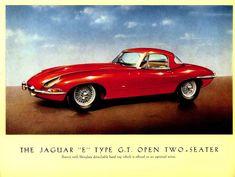 E-Type Jaguar Launch Brochure, 1961