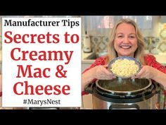 Instant Pot Mac and Cheese - The Right Way! - YouTube