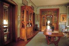 Lucien Weissenburger, 1903-1904. Interior of the Maison Bergeret.