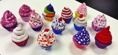 Clay Cupcakes (4th) - Art with Mrs. Nguyen
