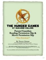 The Hunger Games Reading & Movie Permission Slip