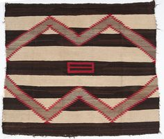 Navajo Chief's Pattern Weaving / Rug - American Indian: Timed Auction - ends Native American Blanket, Native American Rugs, Native American Beading, American Indians, Navajo Weaving, Navajo Rugs, Pattern Art, Abstract Pattern, Print Patterns