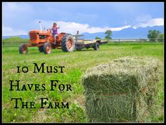 Not sure what tools you'll need on your homestead or farm? Check out the 10 farm tools we use the most