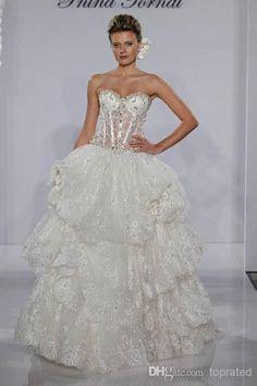Pnina Tornai for Kleinfeld свадебные платья Wedding Dresses 2014, Wedding Dress Shopping, Bridal Dresses, Wedding Gowns, Pnina Tornai Dresses, Making A Wedding Dress, White Ball Gowns, Beautiful Dresses, Marie
