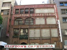 The New Old Clifton's Cafeteria Unveiled.