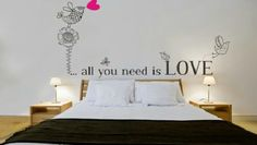 Vinilo Decorativo All you Need is Love