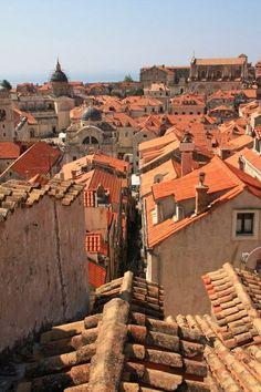 Italy - Terracotta Roof Tiles