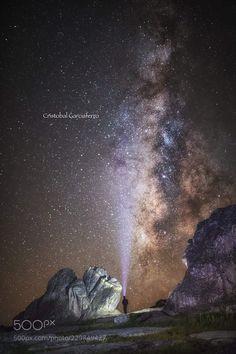 Looking the Milky way by CristobalGarciaferroRubio #landscape #travel