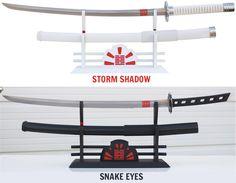 GI Joe: Snake Eyes & Storm Shadow swords