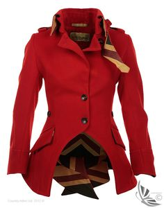 LiBErty FREEdom Sandhurst Jacket – Red