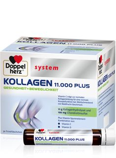 Doppelherz system KOLLAGEN 11.000 PLUS Vitamin D, Anti Aging, Health Care, Personal Care, Beauty, Dm, Google, Getting Old, Take Care Of Yourself