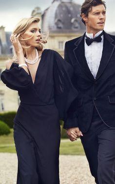 Dapper gent black tie wedding in 2019 фотосъемка, стиль, пар Classy Couple, Elegant Couple, Stylish Couple, Traje A Rigor, Couple Goals, Luxury Couple, Luxury Lifestyle Women, Couple Romance, Black Tie Affair