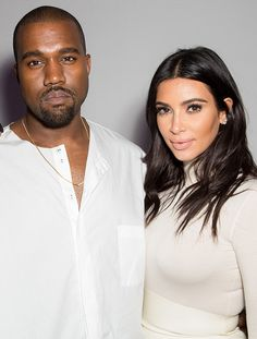 Date night! Kanye West and Kim Kardashian are a couple that loves to coordinate!