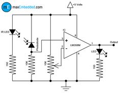 4402e914a4c3a9b10a1c2a35c2691d9f circuit diagram how to build infrared detector circuit diagram using bc557 electronics V IR Blaster Wiring Cat at n-0.co