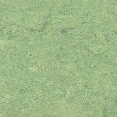 "Green Linoleum Flooring from Armstrong ""Tree Frog."""