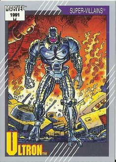 Ultron 1991 Marvel Universe Trading Card Series II