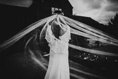Veil caught in the wind  #weddingveil #weddingphotographer #midlandsweddingphotographer