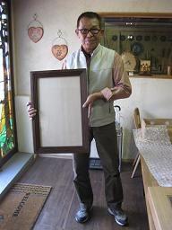 2009年10月10日 みんなの作品【額・鏡・壁飾り】 大阪の木工教室arbre(アルブル)