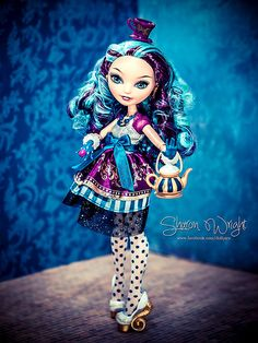 Madeline Hatter - Ever After High Doll (got her for my bday, adore her! By the makers of Monster High)