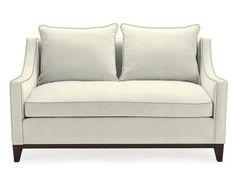 "Presidio Loveseat #williamssonoma 60W x 36D x34H Seat 20H,  Seat interior 52 x 22 Arm 24""    Down Blend seat  $1950"