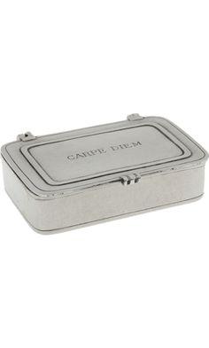 Match Carpe Diem Pewter Box