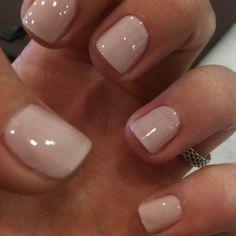 Gel Nails Natural Color