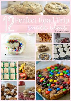 12 Perfect Road Trip Snack Ideas