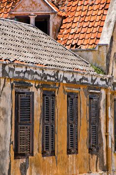 Old buildings, Curacao