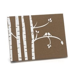 Purchase the Hortense B. Hewitt Co.™ Birch Trees Guest Book at Michaels. This textured design of a pair of lovebirds in a white birch tree is the perfect guest book for an eloquent wedding. Birch Tree Wedding, Wedding Tree Guest Book, Personalized Wedding Guest Book, Guest Book Tree, Wedding Book, Guest Books, Wedding Ideas, Wedding Ceremony, Wedding Stuff