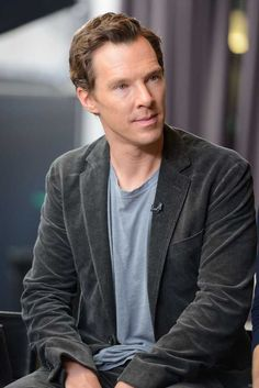 Benedict, I wish ANY man would achieve this level of attention with me...Go on, I'm listening.