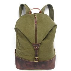 Canvas Casual Retro Backpack School Notebook Bag